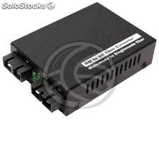 Converter multimode fiber optic singlemode SC 100 Mbps of SM to MM (UF05-0002)
