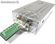 Converter RS232 to RS422 and RS485 optically isolated 1000W (DB9) (TI40)