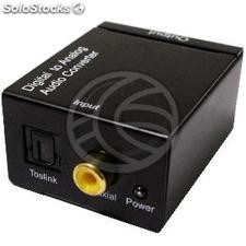 Converter toslink digital audio to analog RCA coaxial (VD47-0003)