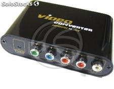Converter YPbPr Component Video to cvbs and s-Video (SH97)