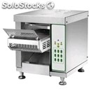 Conveyor toaster mod. cvt1 - production per hour: n. toasts 50 150 - power 1300