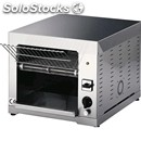 Conveyor toaster mod. toc - production per hour: n. toast 150 480 - power 3000 w