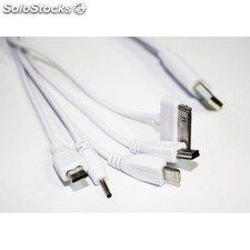 CoolBox - coo-MULTUC03 0.3m usb a Color blanco cable usb