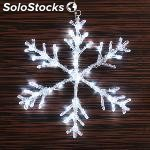 Copo de nieve decorativo (40 led)