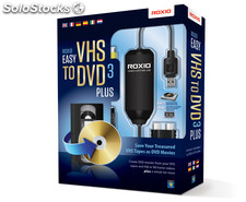 Corel roxio easy vhs to dvd 3 plus usb 2.0 dispositivo para capturar video