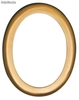 Cornice ovale per lapidi in alluminio (Oval photo frame for tombstones)