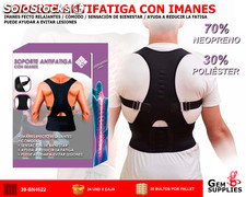 Corrector Espalda Soporte Anti Fatiga Con Imanes - WE BEAUTY
