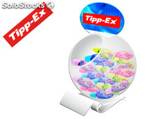 Corrector tipp-ex micro tape twist 6MTX5MM expositor 60 unidades