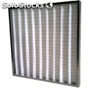 Corrugated cloth filter g4 - maximum filtering surface in a compact size -