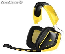 Corsair Auriculares Gaming VOID Wireless SE Dolby 7.1 USB Amarillo-Negro