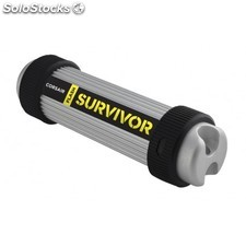 Corsair - Flash Survivor 256GB usb 3.0 256GB usb 3.0 (3.1 Gen 1) Tipo a Negro,