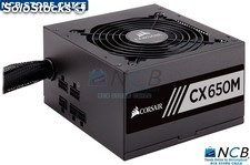 Corsair Fuente Poder 650W/12V Atx Cx Series 80 Plus Bronze