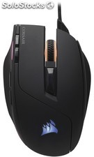 Corsair raton Gaming sabre rgb 10000 dpi Optical Mouse negro PMR03-29772