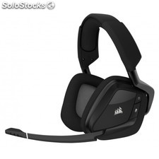 Corsair - VOID PRO RGB Wireless Premium Binaurale Diadema Carbono auricular con