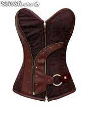 Corsetto Leather Marrone