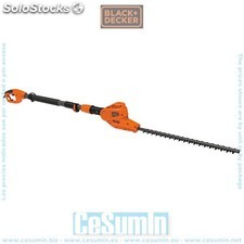 Cortasetos telescópico 550W 51cm 19mm - Black and Decker - Ref: PH555