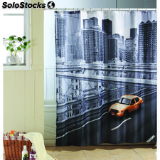 Cortina de bano 180 x 200 cm city new york - msv - 3700703945994 - MS505