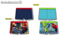 Costume pantaloncino spiderman 2-4-6 -8 anni