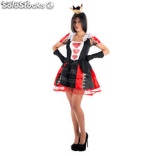 Costume Queen of hearts Noir