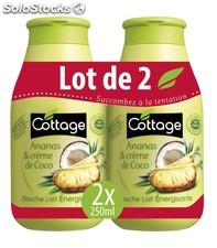 Cott.dch lt ananas/coco 2X250