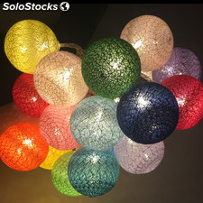 Cotton ball LED string light Christmas Lighting
