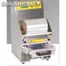 Countertop tray heat sealers - mod. tesissf213 - electric - semi-automatic -