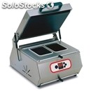 Countertop tray thermo-sealer terra line - mod. seal400 digit - semi-automatic -