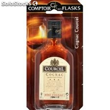 Courcel cognac 40D flask 20CL