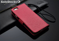 "Cover Custodia Orizzontale Brio Pelle 4,7"" Apple Iphone 6 con Laccetto"