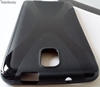 Cover tpu per Samsung Galaxy Note 3 bianco o nero