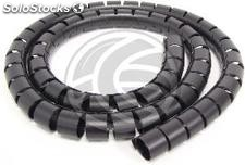 Covers 30mm black wires. Coil of 5m (EA72)