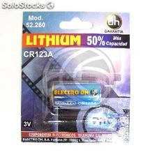 CR123A 3V lithium battery (EN67)