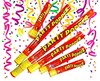 Cracker papel party popper t.60CM