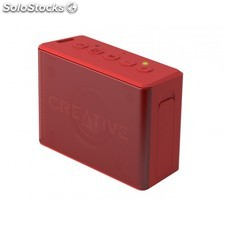 Creative Labs - MUVO 2c Stereo portable speaker Rojo