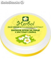 Crema Facial Natural 75 ml. - Manzanilla/Chamomilla