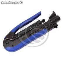 Crimping Tool f bnc rca Connector for RG59 RG11 RG6 Cable (RC96-0002)