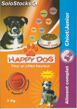 Croquettes happy dog Junior 3 Kg