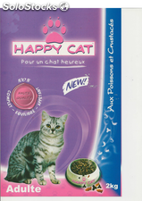 Croquettes pour chat happy cat 2 Kg