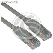 Crossed cable UTP gray Cat.5e 1m (RX03)