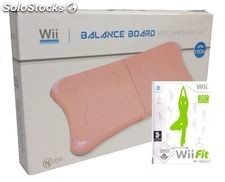 Crown Balance Board Pink With Wii fit Bundle (Wii)