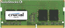 Crucial 16GB DDR4 2133 mt/s sodimm 260pin dr x8 unbuffered