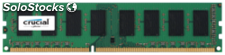 Crucial 2GB DDR3 1600 mt/s PC3-12800 udimm 240pin single