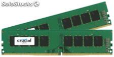 Crucial 32GB Kit DDR4 2133 mt/s 16GBx2 dimm 288pin dr x8 unbuffe