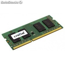 Crucial - 4GB DDR3-1333 so-dimm CL9 4GB DDR3 1333MHz módulo de memoria