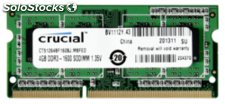 Crucial 4GB DDR3 1600 mt/s CL11 PC3-12800 204pin single ranked