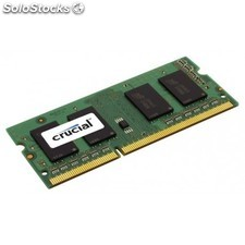 Crucial - 4GB DDR3-1600 so-dimm CL11 4GB DDR3 1600MHz módulo de memoria