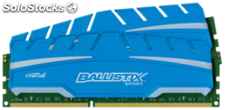 Crucial Ballistix Sport xt 8GB k 4GBx2 DDR3 1600 240pin single