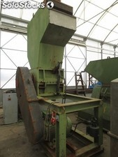 Crusher Prat P-5 type open rotor, measuring 710 x 520mm.