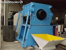 Crusher type Prat P-10, Open rotor and inclined cut. Motor 150 c.v.