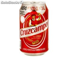 Cruzcampo lata 330 ml